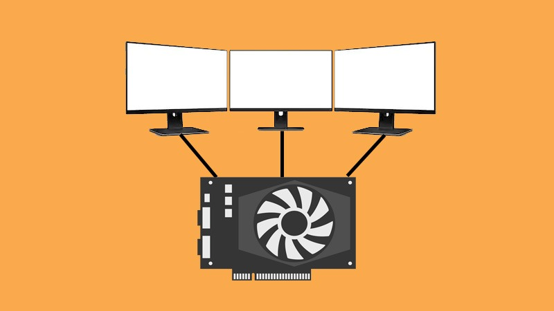 Triple monitor support