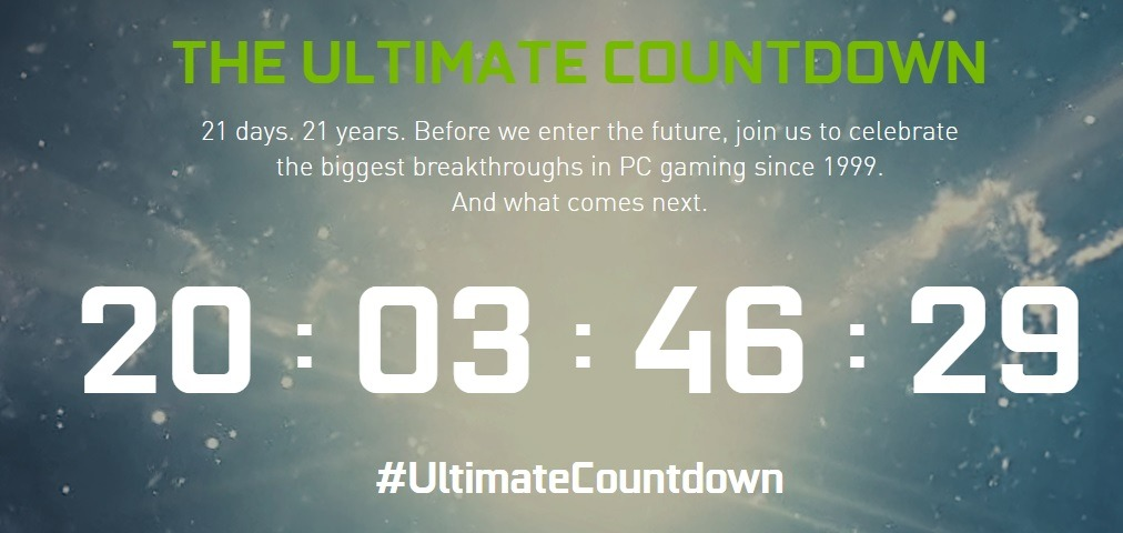 Ultimate Countdown Nvidia RTX 30 series