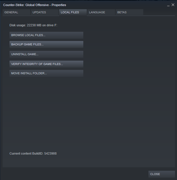 X is not connected to matchmaking servers cs go