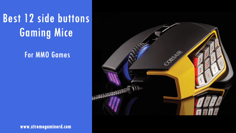 Best 12 side buttons gaming mouse