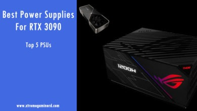 Best Power Supplies for RTX 3090