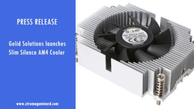 Photo of Gelid Solutions launches Slim Silence AM4 CPU cooler