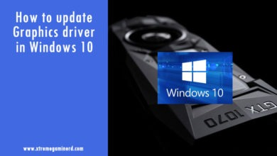 Photo of How to upgrade graphics driver in Windows 10