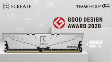 Photo of TEAMGROUP launches single 32GB T-Create memory
