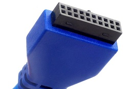 USB 3.0 case connector