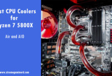 coolers for Ryzen 5800X