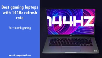 144Hz gaming laptop
