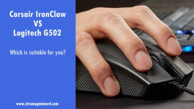 Photo of Corsair IronClaw vs Logitech G502- Which is better for you?