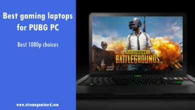 PUBG Gaming Laptop