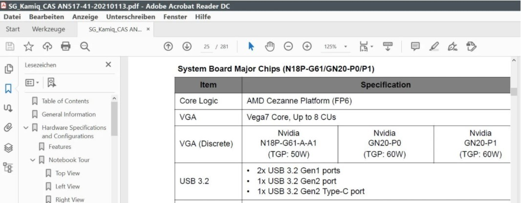 Acer laptops with RTX 3050 Ti
