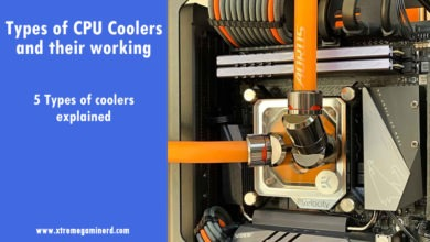 Types of CPU coolers
