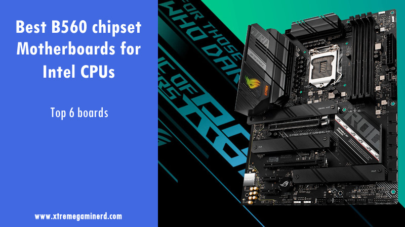 B560 motherboards
