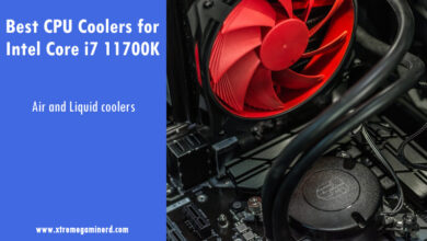CPU coolers for i7 11700K