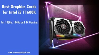 graphics cards for i5 11600K