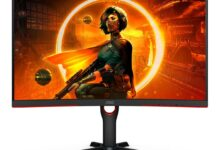 AGON Curved G3 Series 165Hz gaming monitor